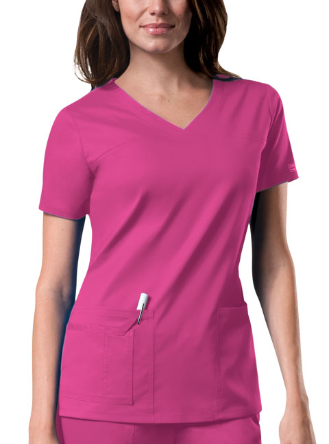 Top V-Neck (in 12 Colors) Core Stretch