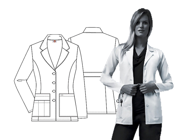Dickies 29'' Lab Coat