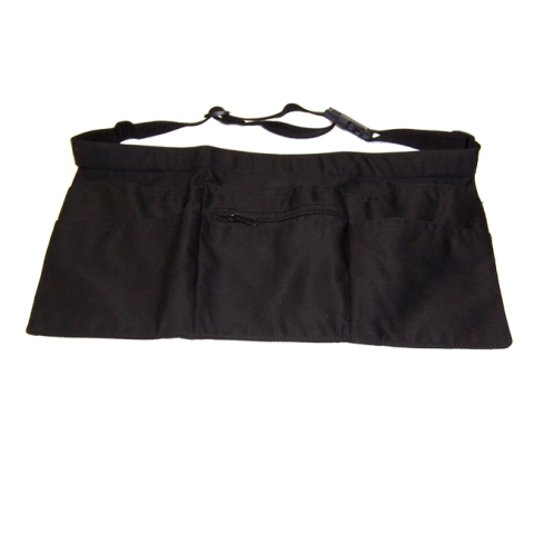 Apron Black 5 Pockets
