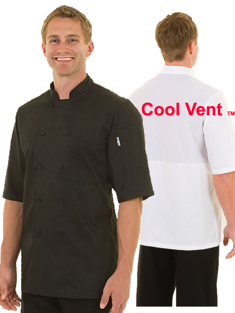 Cool Vent Chef Coat SS