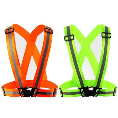High Visibility Reflective Harness for Cycling