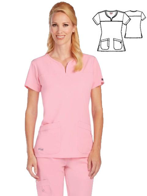 Greys Anatomy Tm Uniforme Vogue Scrubs Estheticians Lab Wear